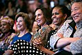 Constancia Mangue de Obiang, Laura Bush, Sylvia Bongo Ondimba, Michelle Obama, and Tina Tchen, 2014.jpg