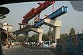 Construction in Delhi 2009 for mass transit.JPG