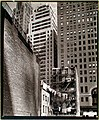 Construction old and new from Washington Street 37 in Manhattan in1936.jpg