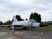 Convair F-102 Delta Dagger at Istanbul 5390