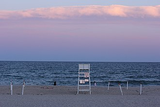 Southampton, New York - Cooper's Beach in Southampton