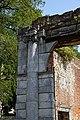 Copped Hall Winter Garden ruin northwest corner, Epping, Essex, England.jpg