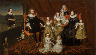 Portrait of Sir Thomas Lucy and his Family