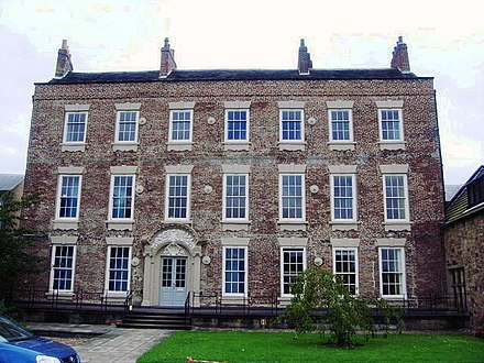 Cosin's Hall, home to the Institute of Advanced Study Cosin's Hall, Durham.jpg