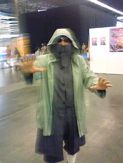 Cosplay de Shino Aburame