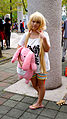 Cosplayer of Anzu Futaba, The Idolmaster at PF23 20151025.jpg