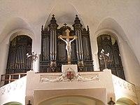 Courbevoie - Église Saint-Maurice de Bécon - orgue.JPG