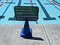 Covid rules, sign, Verdugo Aquatic Facility, Burbank, California, USA (50104909838).jpg