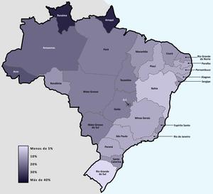 Demografía De Brasil Wikipedia La Enciclopedia Libre