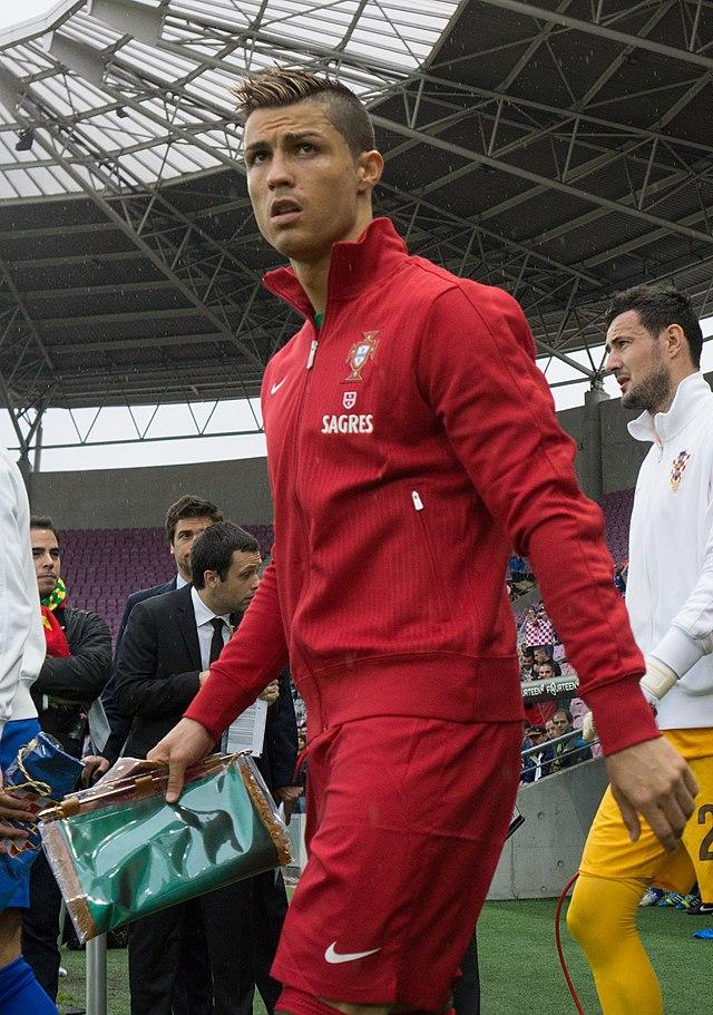 Ronaldo con il Manchester United