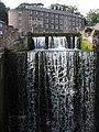 Cromford Mill Weir - geograph.org.uk - 1285670.jpg