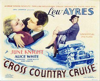 Cross Country Cruise - Lobby card