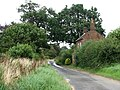 Crostwight Road past Foxhill Cottage - geograph.org.uk - 526304.jpg