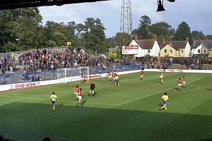 Thames Valley Royals proposal - An Oxford United match at the Manor Ground in 1980