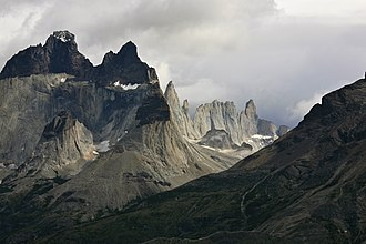 Cordillera Paine - Towers of Paine.