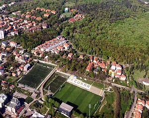 2016–17 Serbian SuperLiga - Image: Cukarica Banovo Brdo stadion f k cukarici IMG 1725