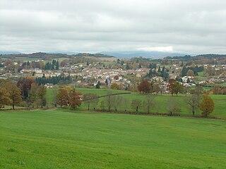 Cunlhat Commune in Auvergne-Rhône-Alpes, France
