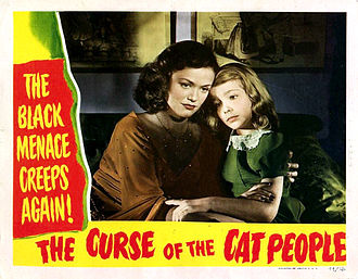 The Curse of the Cat People - Lobby card