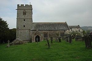 Cwmcarvan - The church of St. Catwg