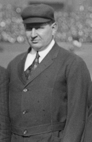 Cy Rigler - Rigler at the 1915 World Series