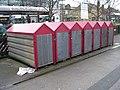 Cycle Lockers - Ilkley Station - geograph.org.uk - 1614696.jpg