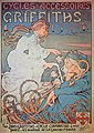 Cycles Griffiths affiche Henri Thiriet 1898.jpg