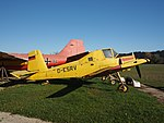 D-ESRV (aircraft), Zlin Z-37A Cmelak pic1.JPG