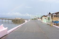 A view along Day-As boardwalk