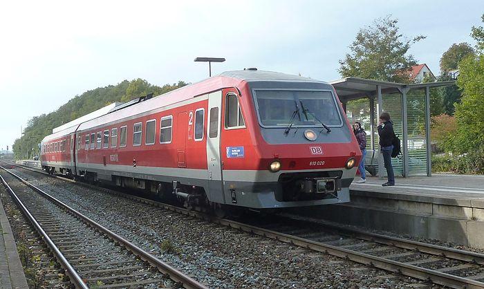 German DMU 610 020