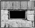 DETAIL - SOUTH FRONT WINDOW - Kandt-Domann Farmstead, Barn, State Route 3, Hope, Dickinson County, KS HABS KANS,21-HOPE.V,1-B-7.tif