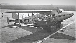 DH.86 Express G-ADVJ Bond Air Services.jpg