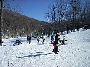 Ulysses Township, Potter County, Pennsylvania - Skiing at Denton Hill State Park