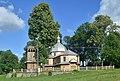 Dachnów, cerkiew Podwyższenia Krzyża Świętego, dzwonnica (HB11).jpg
