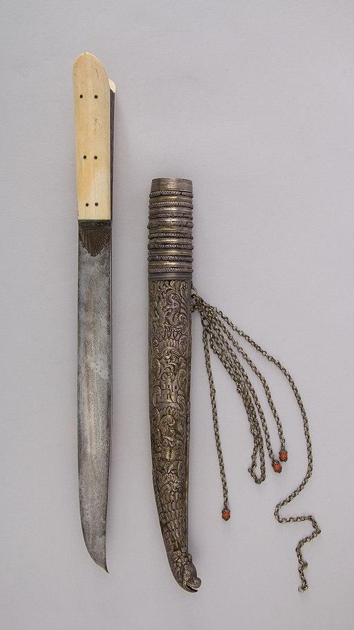 Dagger (Yatagan) with Sheath MET 26.35.4ab 003june2014