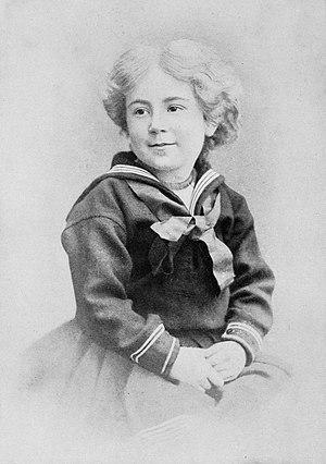 Daisy Ashford - Daisy Ashford as a child