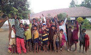 India tribal belt - Dakshin Gujarat Adivasi Sevamandal - Ashram NaniVahial