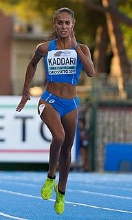 Dalia Kaddari Italian sprinter