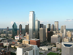 Downtown Dallas seen from Reunion Tower