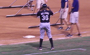 Dallas Williams - Williams coaching for the Norfolk Tides.