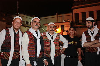 Damascus, traditional clothing Damascus, traditional clothing (6364877017).jpg