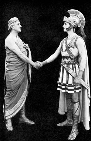 Damon and Pythias - Still from the film Damon and Pythias (1914)