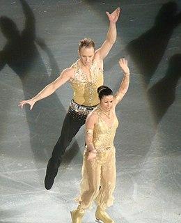 Daniel Whiston English ice dancer