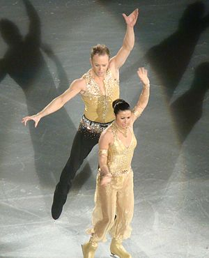 Daniel Whiston - Whiston and Hayley Tamaddon on the Dancing on Ice tour in 2010