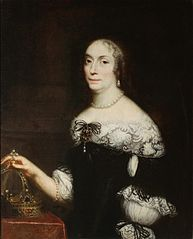 Portrait of Queen Marie Louise Gonzaga