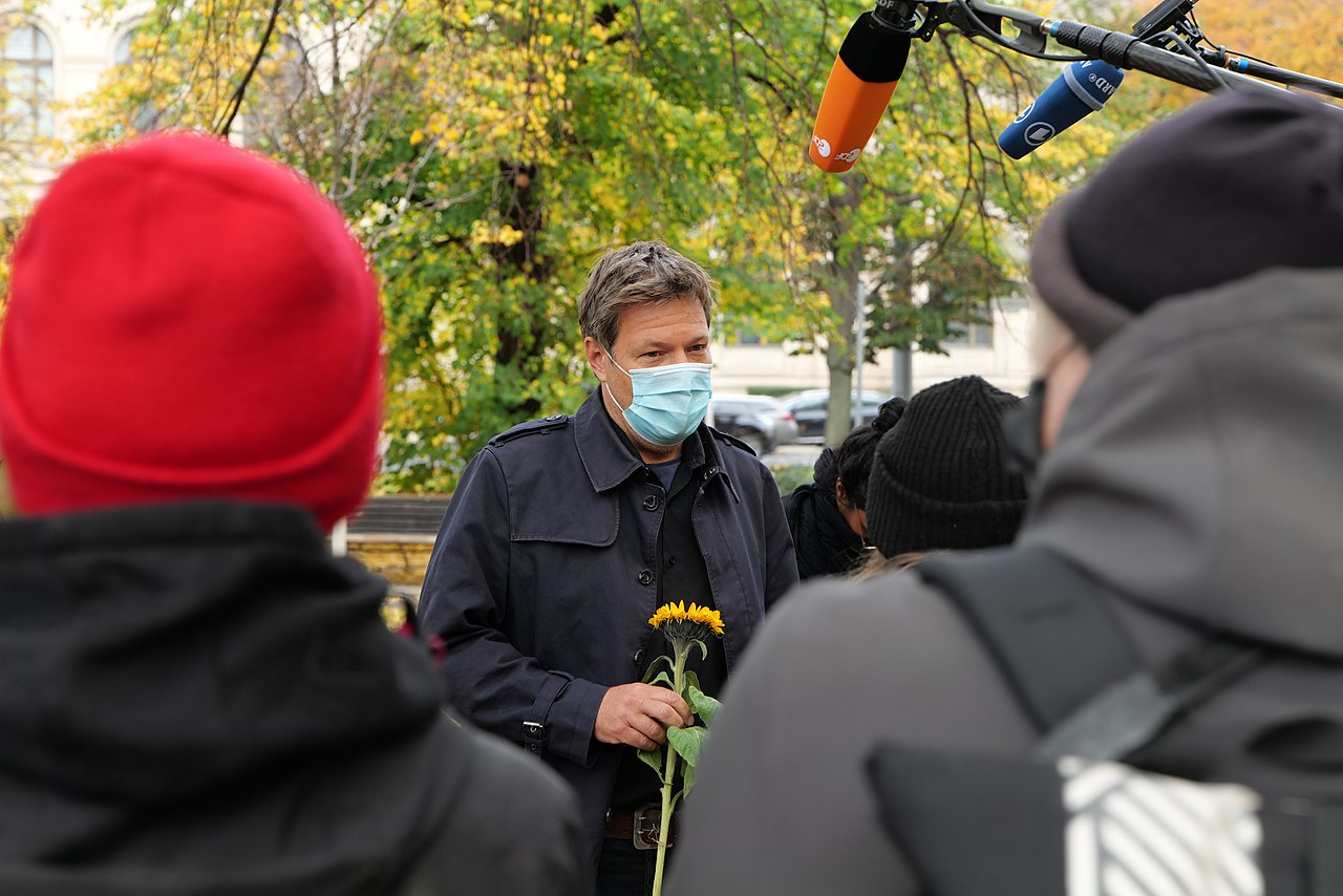 Dannenrod forest protest at green party headquarter Berlin discussion with Robert Habeck 2020-10-28 05.jpg