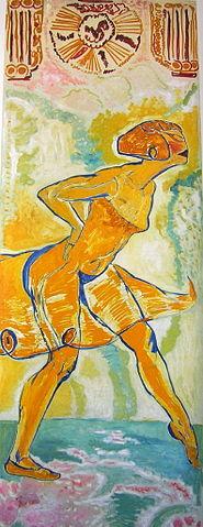 Danseuse jaune, Mèrodack-Jeanneau - Fauvismo - Domingo com Limonada