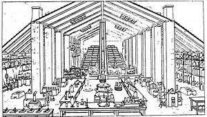 David Boswell Reid - Chemistry laboratory, from Reid's Brief Outline Illustrations of the Alterations in the House of Commons (1837)
