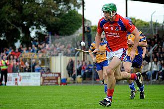 David Burke (Galway hurler) - David Burke in action for St Thomas' in 2013
