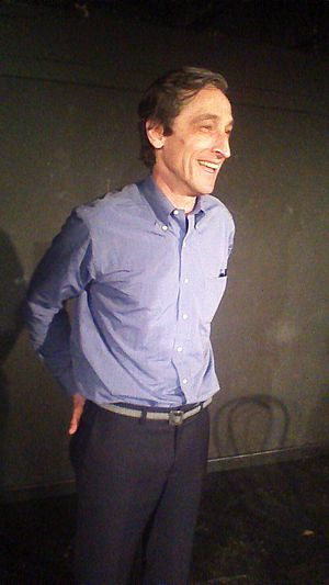 David Pasquesi - David Pasquesi on stage after a show at iO Chicago in April 2013.