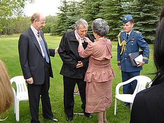David Adams (dancer) - Adrienne Clarkson invests David Adams into the Order of Canada